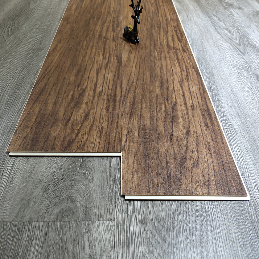 vinyl floor SPC click rigid core floor tile pvc plank 3.5mm UV0.3 factory direct