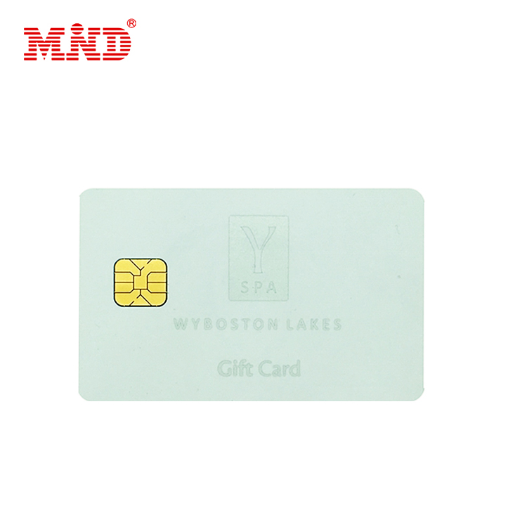 Factory price wholesale customized printing contact IC chip smart card