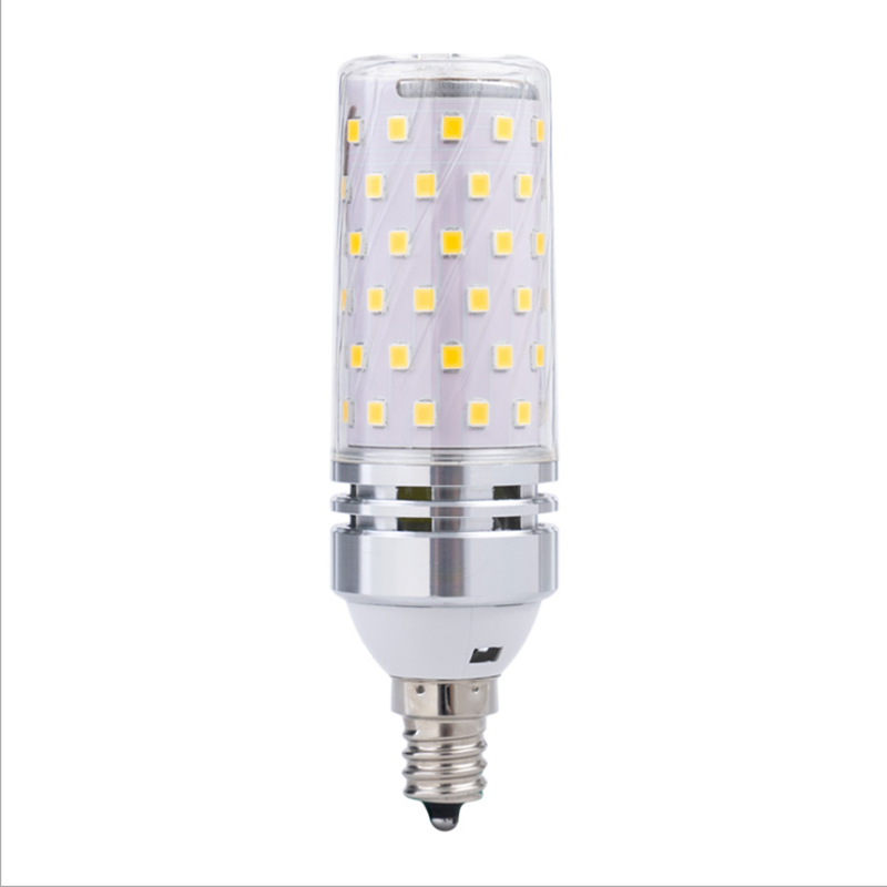 E14 LED Bulbs 12W/16W LED Candelabra Bulb 70 Watt Equivalent 700lm Decorative Candle Base E14 Corn Dimmable LED Chandelier Bulbs