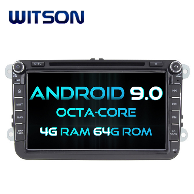 WITSON ANDROID 9.0 CAR VIDEO PLAYER Per VOLKSWAGEN Scirocco Golf 5 Golf 6 Polo Passat B6 Passat CC Tiguan Touran
