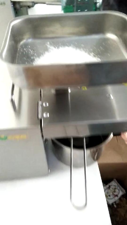Presse huile d'olive type domestique, machine de traitement d'huile de coco, vis à vis automatique