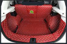 Высокое качество кожаный коврик багажника автомобиля грузовой лайнер для MG ZS 2019 2020 коврик в багажник аксессуары для интерьера чехлы(Китай)