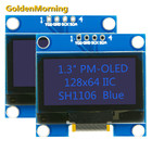 Oled Display Module 128x64 Resolution 1.3 Inch OLED Display Module with IIC I2C Interface Blue 4p