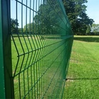 Vmex green security mesh fencing
