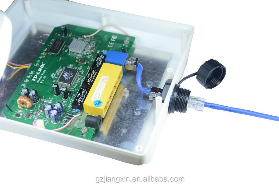 Kunststoff elektronische komponenten für großhandel Wasserdichte USB3.0 AF zu AM kabel