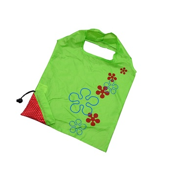 high quality wholesale eco friendly foldable reusable polyester shopping bags