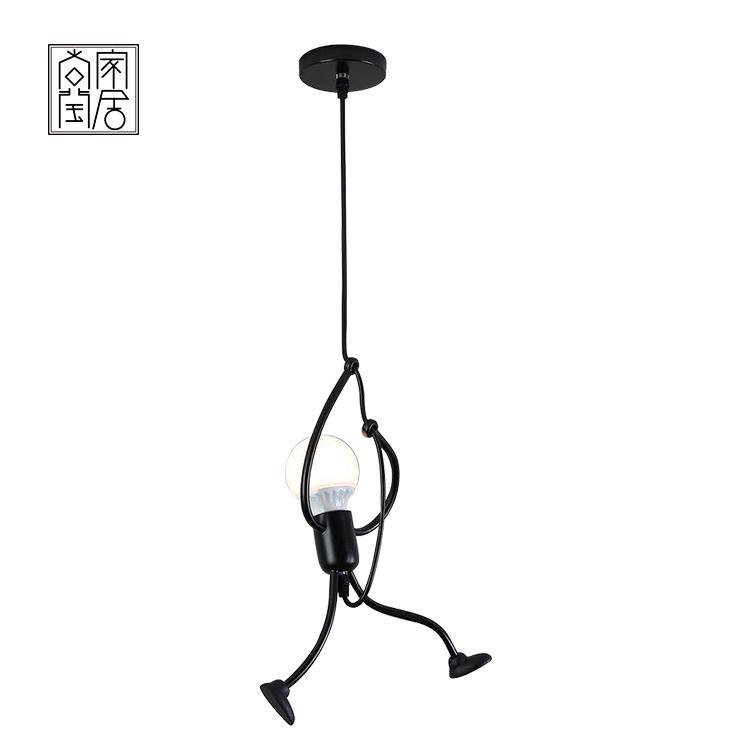 Lampada a sospensione LED Moderna Creativa Piccolo Uomo
