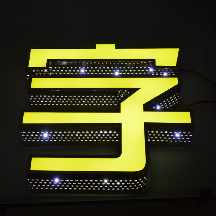 Shop Outdoor Advertising Word Acrylic 3d Logo Board Neon Letter Sign For Led Flashing Light