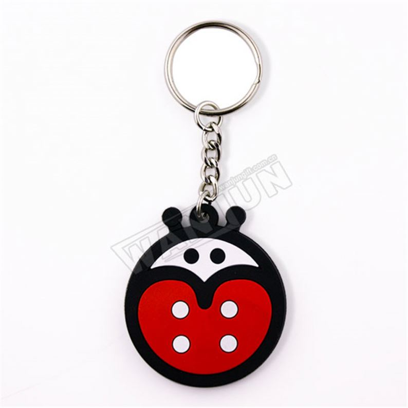 Professional Chinese Supplier Wholesale Rubber Keychain Guangzhou