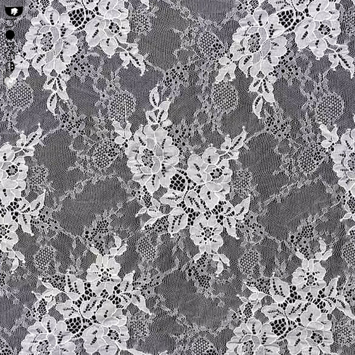 Chantilly French Beautiful Eyelash Lace Fabric For Bridal