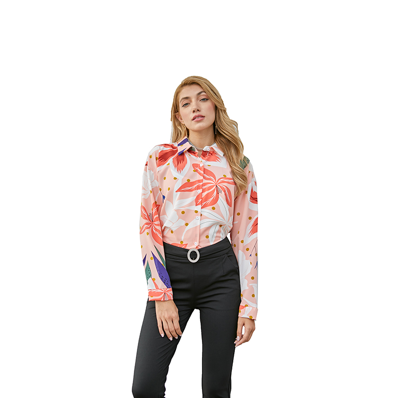 YOMING YM010 2020 Print Shirts Women Top Hot Sale Long Sleeve <strong>Cotton</strong> <strong>Ladies</strong> Casual <strong>Blouses</strong> Loose Female Checked Shirt