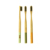 Private Label Customized Bamboo Toothbrush Recycled Nylon