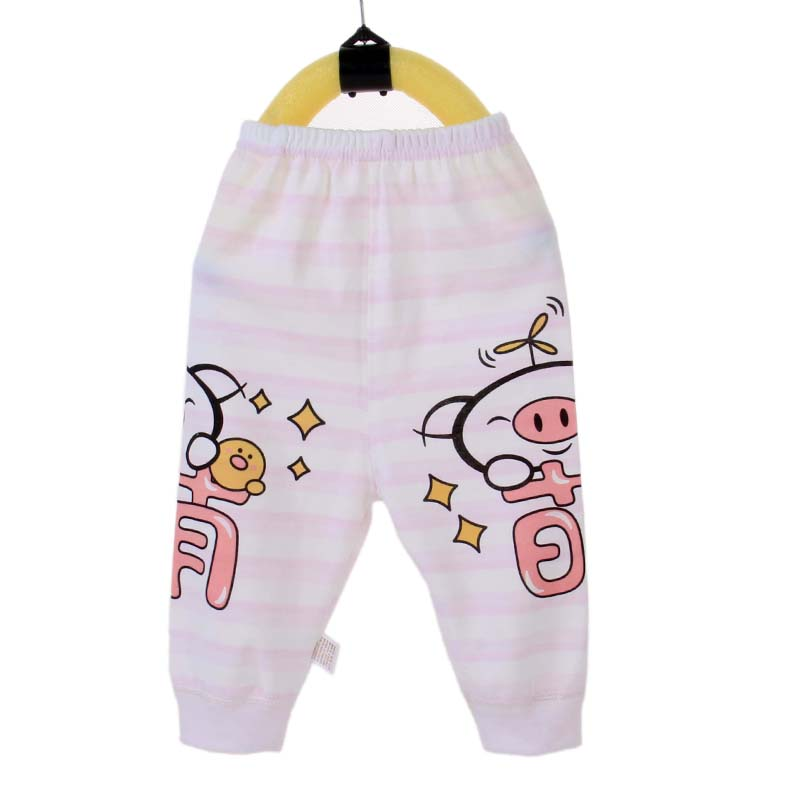 Hot sale baby 0-3-year-old baby knitting pants wholesale baby clothing 100% organic cotton Hougong pants in spring and summer