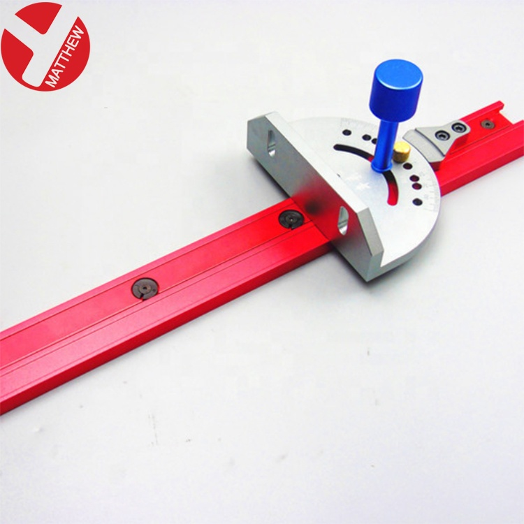 45mm Wide Aluminum Jig Fixture Slide Track For Woodworking Router Table
