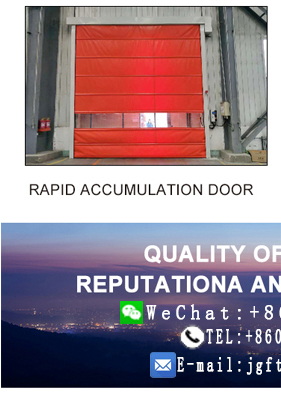 China rapid accumulation PVC door