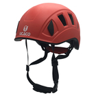 adult Red outdoor climbing safety helmet Factory direct sales
