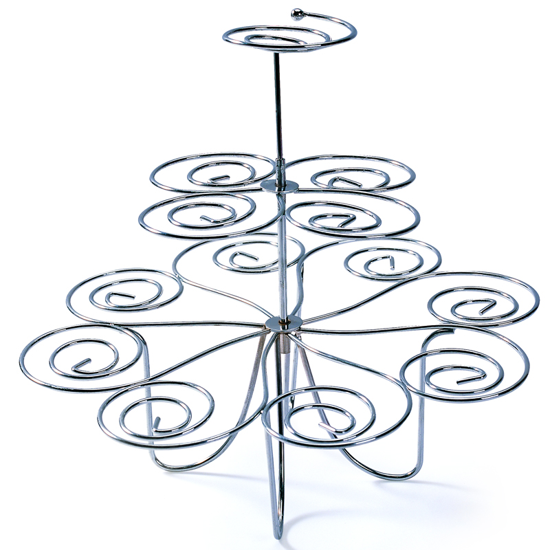 Decoration Cake Tools Cupcake Stand Display Dessert Holders Clear Tiered Cake Stand Wedding Cupcake Tower