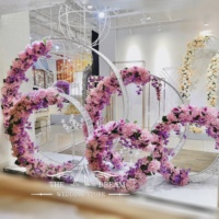 Luxury Wedding Backdrop 5 Rings Backdrop New Decor Panels Wedding Decoration From The A Dream Wedding Store