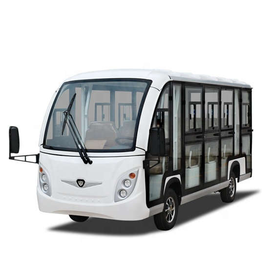 14 passenger electric shuttle buses support customized models