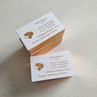 Printing Machines Business Cards Custom Puff Printing Kraft Paper Cardboard Thank You Cards