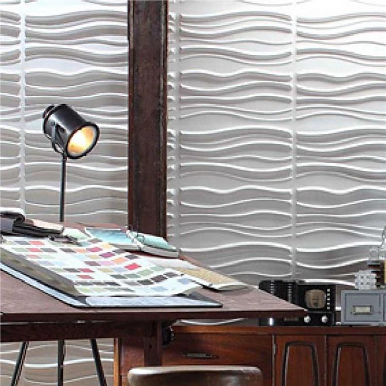 NEW 3D PVC wall sticker wallpaper waterproof  pvc 3d foam wall panels for home kitchen