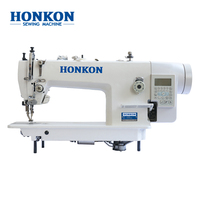 Suitable for thick materia l HK-0303-D4 Heavy duty top and bottom feed lockstitch industrial sewing machine
