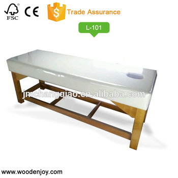 Classic style Solid wood massage bed Planar wooden bed L-101