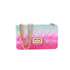 colorful D jelly pvc bag