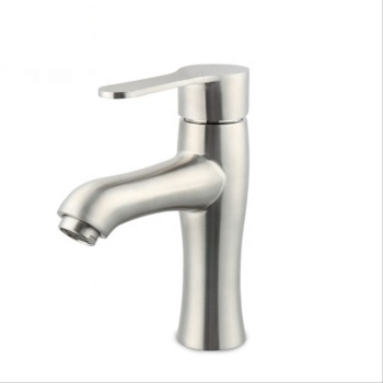 Made In China Chinese Manufacturer Supply Single Handle Water Deck Mounted one Hole Sus304 Basin Faucet
