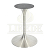 Hot sale 304# stainless steel table base metal trumpet tulip table base for coffe/dining/glass/marble/grantie table