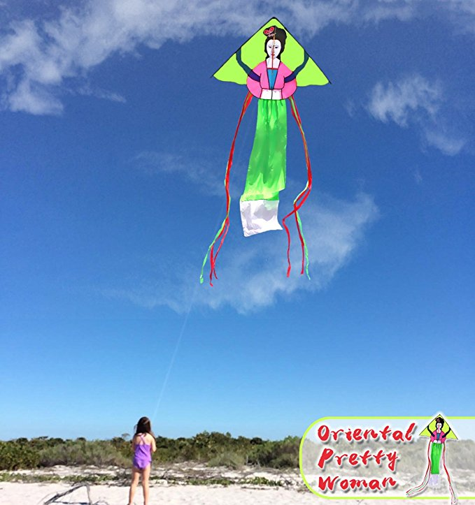 Best Selling Woman Chinese Kites with Flying Thread