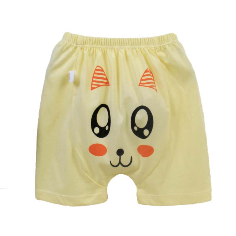 Hot sale high quality pure cotton baby PP pants 0-3 years old summer baby shorts Harem Pants