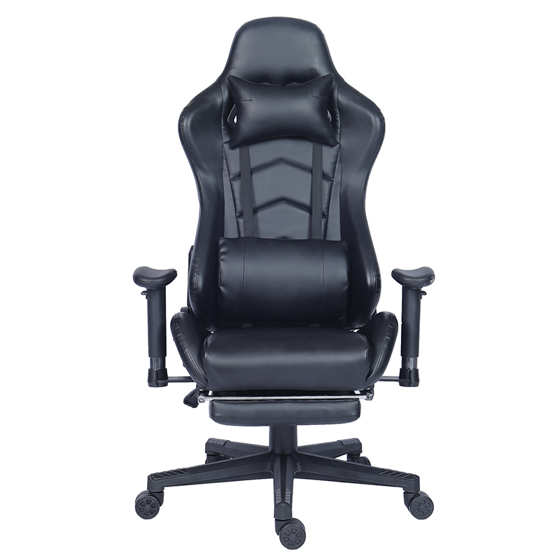 Factory Direct Ergonomic Office Racing 게이밍 자 와 발판
