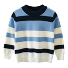 Mudkingdom Clothes Online Popular Latest Style Stripe Baby Design Boys Sweaters