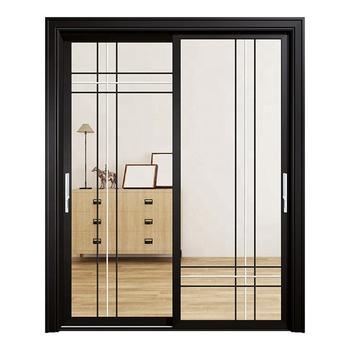 Professional Manufacture Top Window Aluminium Windows And Doors Sliding Window With Inside Grill
