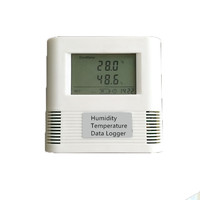 LF-0037 Greenhouse Planting Rack USB Data Exporth Hygrometer Humidity and Temperature Data Logger Meter