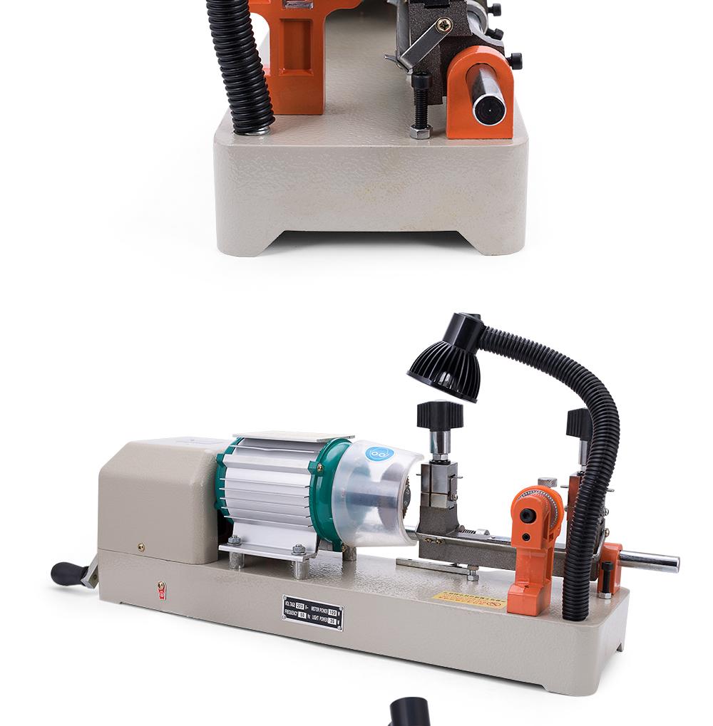 668B automatic remote control car key cutting machine 220v key duplicating machine for making keys locksmith tools