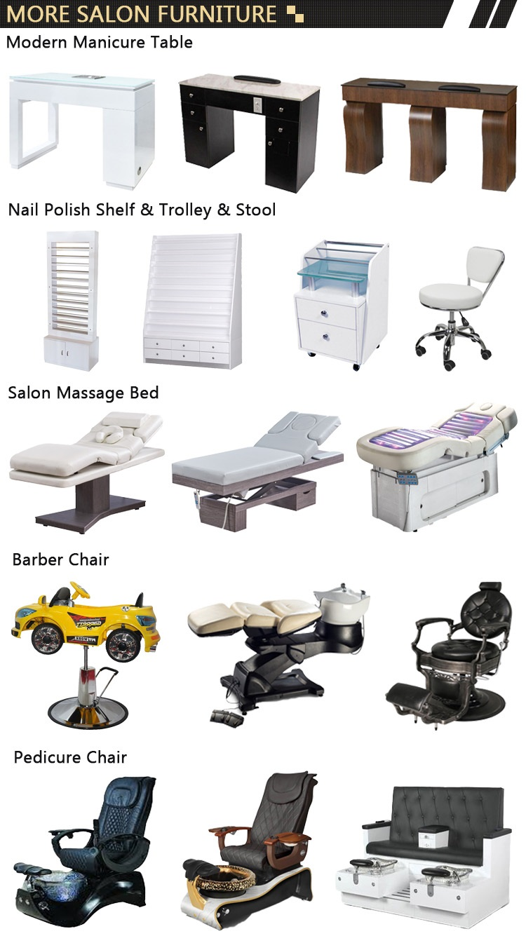nail products salon cosmetics with nail supply manicure and pedicure for nail shop pedicure chair