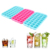 Neue Stil Wiederverwendbare Food Grade PP Ice Trays Kunststoff Platz Shaped Ice Cube Trays
