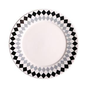 Northern europe style ceramic plate dinner set for restaurant