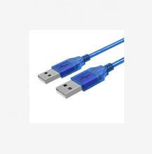 Nieuwe USB 2.0 Male Naar Male Extension Cable Cord USB Type A Data Transfer Kabel Extender Draad 3M Camera harde <span class=keywords><strong>Schijf</strong></span>