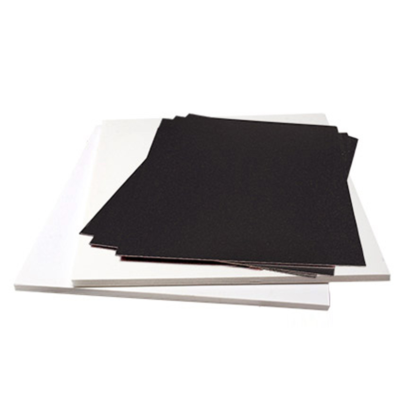 Factory Customized Black Solid PVC Forex Sheet PVC Foam Board for Interior Decoration Low Price OEM