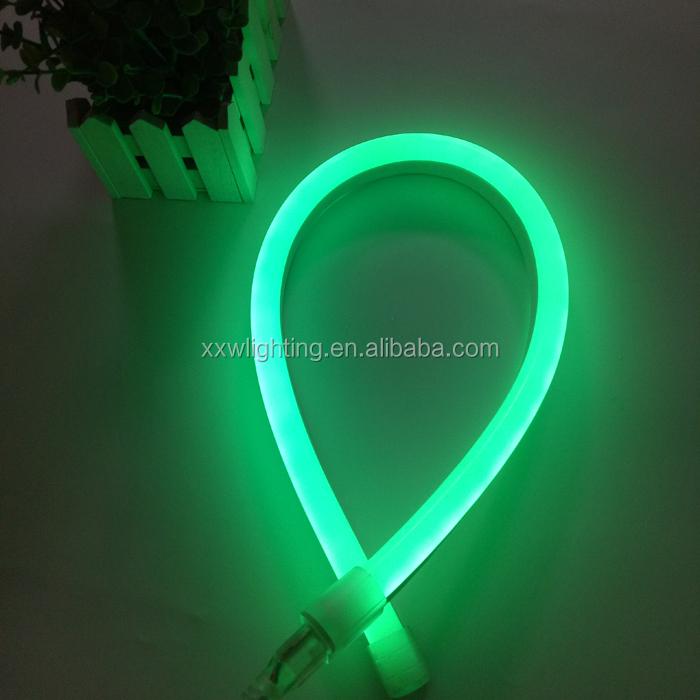 factory supplier high bright RGB RGO RGY 24V 12V LED neon flex strip light