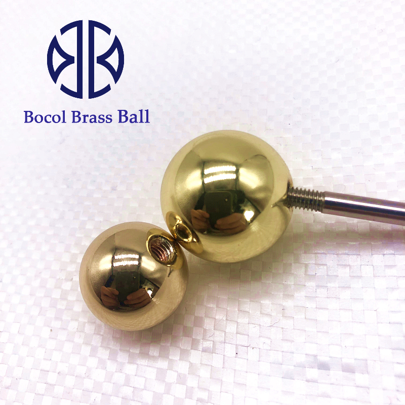 0.5MM to 50.8MM solid brass ball