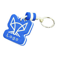 Custom Eva Keychain Mock Up Key Ring Floating Key Ring Plastic Key Tags Foam Key Chain