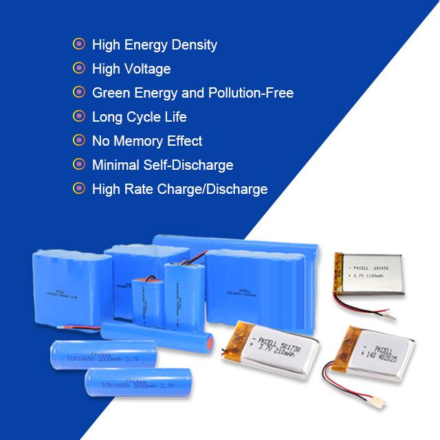 جودة عالية 18650 6600mah 3.7V ليثيوم أيون حزمة ل أدوات الكهربائية