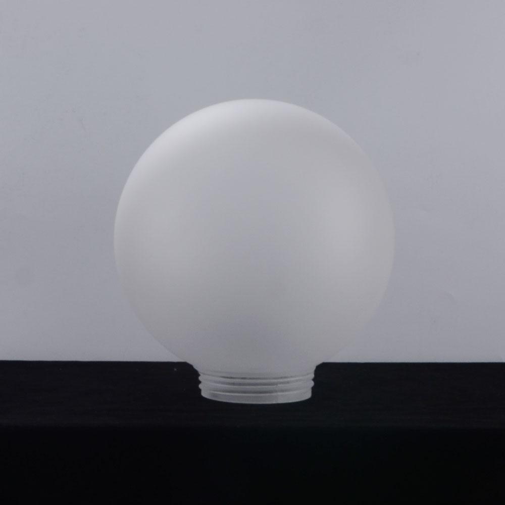 플라스틱 pmma 자연 글로브 젖빛 갓 거리 조명기구
