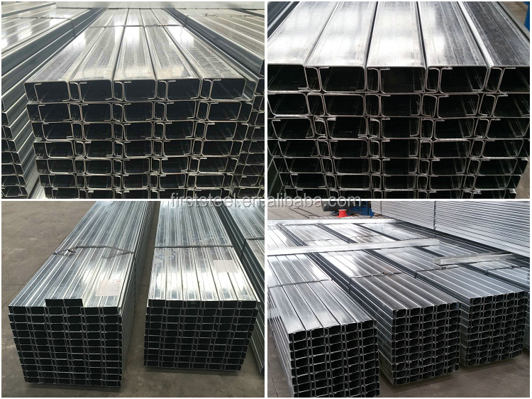 C channel Steel Material steel c profile purlins price philippines