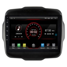 9 polegadas HD Resolução 8 Octa Núcleo Android 9.0 construído em WI-FI Estéreo Do Carro Do Carro DVD Player para JEEP RENEGADO 2016-2018 Do GPS Do Carro de Vídeo