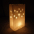Summer parties decorations carved tea light holder brown luminary bag halloween for candle paper bag